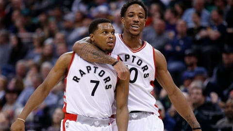 Containing DeMar DeRozan and Kyle Lowry