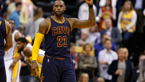 Cavs Sweep Pacers, Advance To East Semis With 106-102 Victory