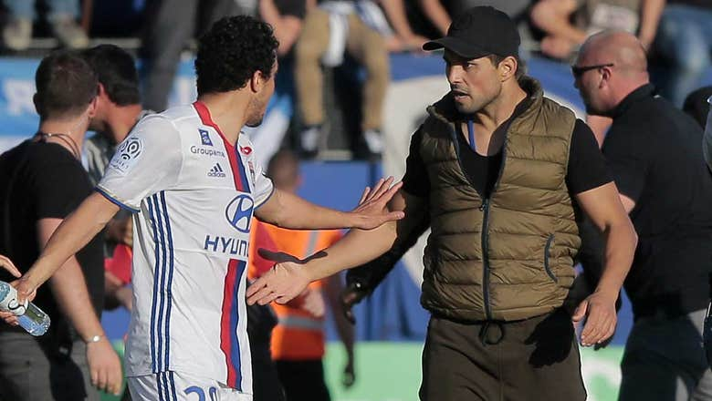 Watch: Lyon players attacked by Bastia fans during warmups
