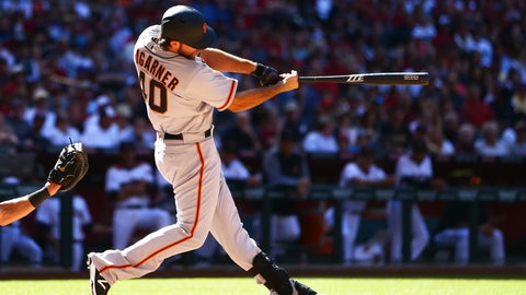 Madison Bumgarner -- San Francisco Giants: .557 OPS