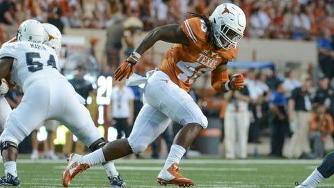 Jets:Malik Jefferson, LB, Texas