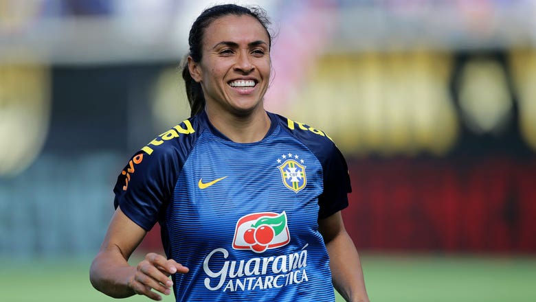 Brazil superstar Marta signs with Orlando Pride in the NWSL