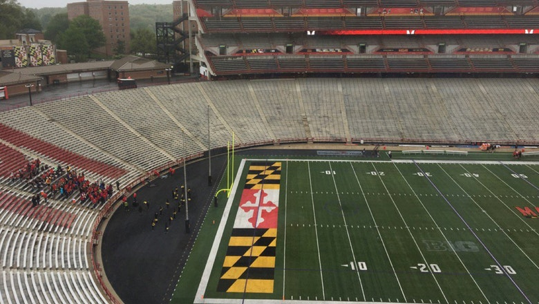 Photo: Fans barely showed up for Maryland's spring football game