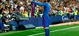 The celebration: Lionel Messi's embrace of evil in El Clasico