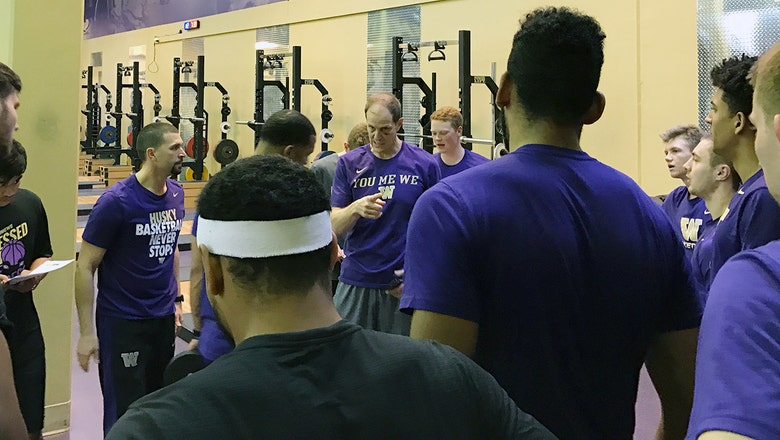 Seeking success of his own creation: A day in the life of new Washington coach Mike Hopkins