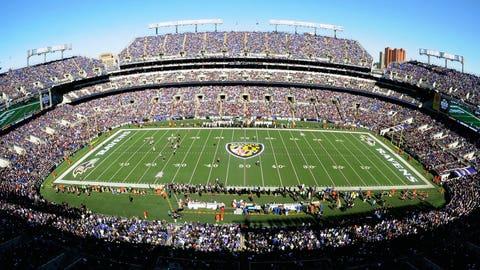Washington Redskins: M&T Bank Stadium (Ravens)