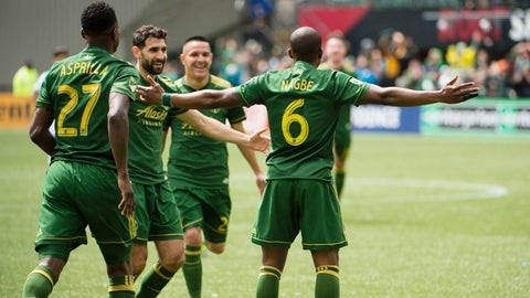 Nagbe is stepping up, and it's a lot of fun