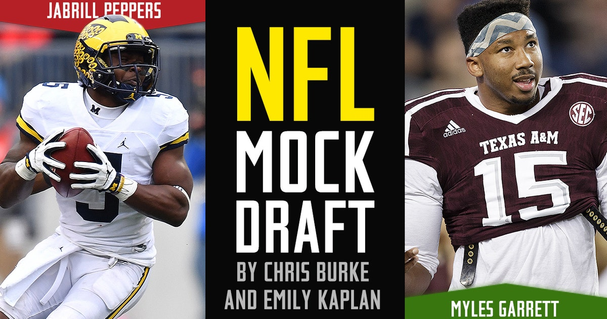 2017 NFL mock draft 12.0: Two experts take one last look ...