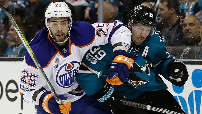 First-round series provides Sharks and Oilers a lesson in dealing with playoff pain