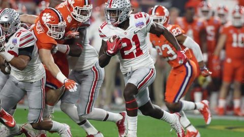 Rams: Parris Campbell, WR, Ohio State