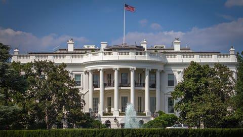 Washington DC's White House.