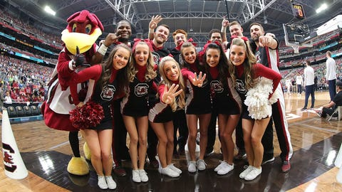 South Carolina's cheer squad