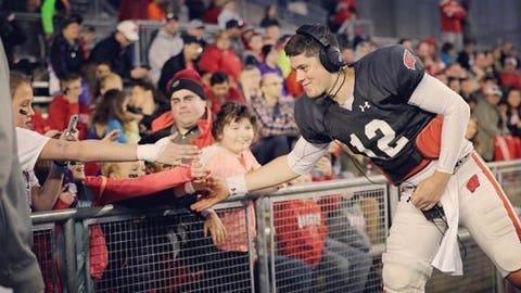 Alex Hornibrook, Badgers quarterback
