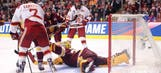 UMD Bulldogs fall short of national title to Lukosevicius, Denver