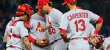 Cardinals swept by Yankees after 9-3 loss in the Bronx