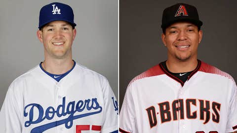 Today's starting pitchers: RHP Taijuan Walker vs. LHP Alex Wood