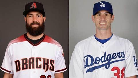 Today's starting pitchers: LHP Robbie Ray vs. RHP Brandon McCarthy