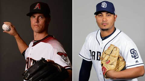Today's starting pitchers: RHP Zack Greinke vs. RHP Jhoulys Chacin