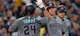 Tomas, Miller way too much for Padres as D-backs win 3rd straight