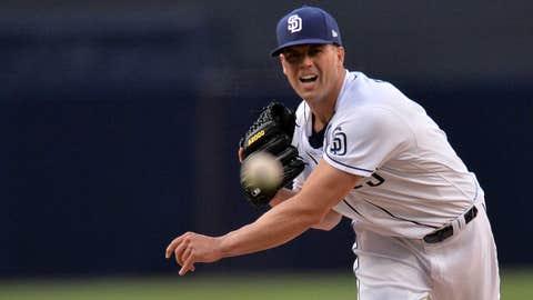 Padres starting pitcher Clayton Richard (2-2, 3.04 ERA)