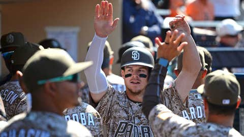 Padres' Myers hits for cycle in 5-3 win over Rockies