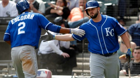 Royals whiffing