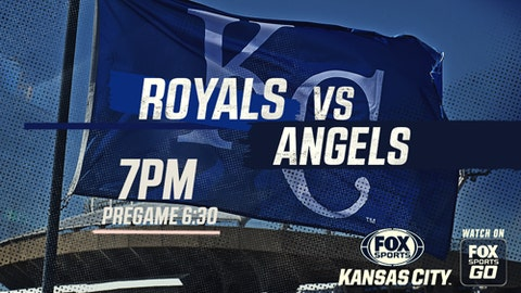 Moustakas' homer gives Royals 3-2 win over Angels