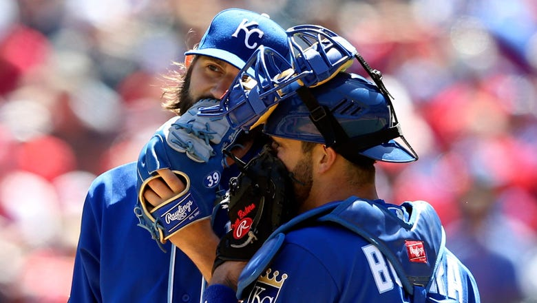 Royals swept in four games after 5-2 loss to Rangers