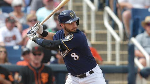 Brewers Place Ryan Braun On DL, Select Contract Of Eric Sogard