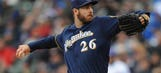 Brewers send RHP Jungmann to minors
