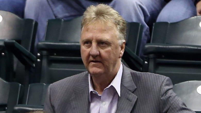 AP source: Pacers president Larry Bird steps down