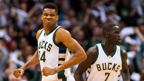 Giannis goes cold but shows winning attitude