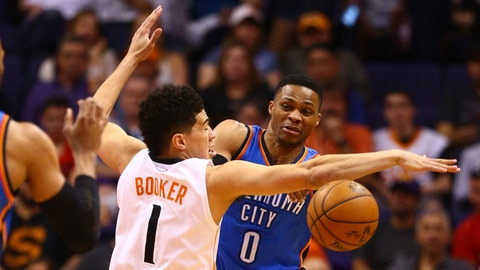 Russell Westbrook does it all (again) to defeat the Nuggets