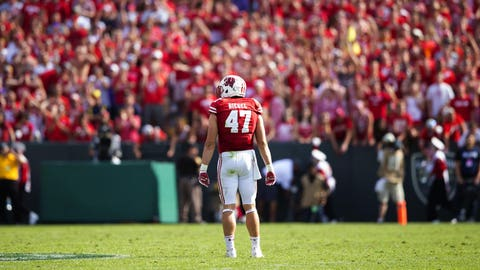 4th round: Vince Biegel, OLB, Wisconsin