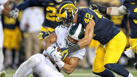 4th round: Ben Gedeon, ILB, Michigan
