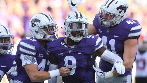 7th round: Elijah Lee, OLB, Kansas State