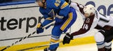 Blues assign defenseman Schmaltz to Wolves