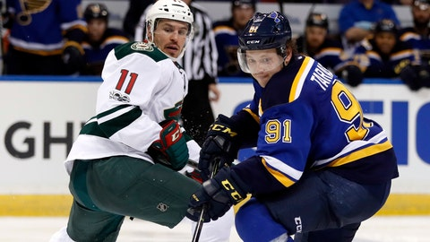 Blues, Rangers win to wrap up first-round series