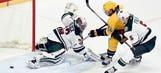 Wild offense shut out by Predators' Rinne