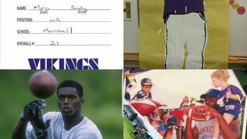 Randy Moss, former Vikings receiver