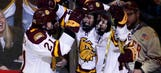 UMD scores late, advances to title game with win over Harvard