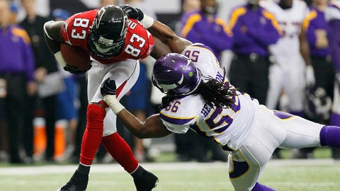 December 3: Minnesota Vikings at Atlanta Falcons, 1 p.m. ET