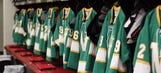 PHOTOS: Wild remember North Stars with throwback jerseys