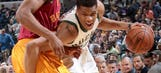 Twi-lights: Giannis, Bucks battle in loss to Pacers