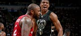 Bucks dominate in Game 3, rout Raptors 104-77