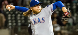Griffin sharp in return to Oakland as Rangers top A's
