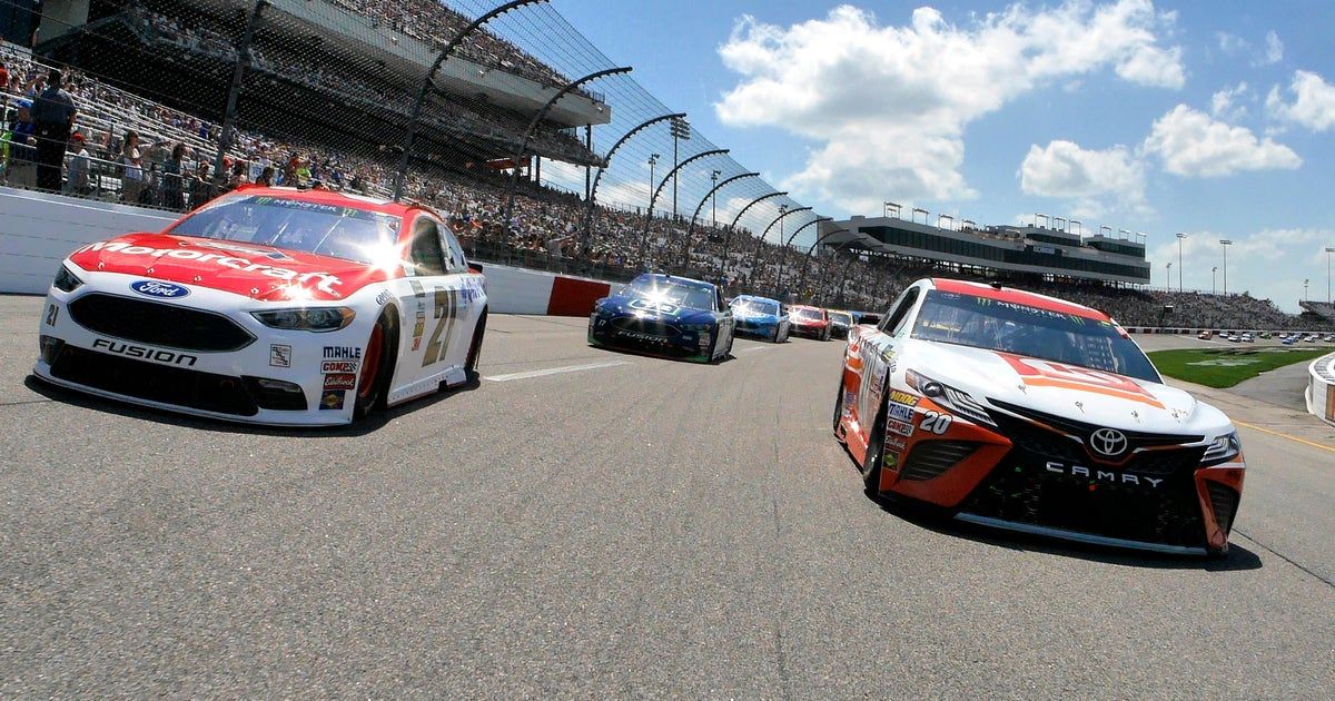 Top 10 drivers after Stage 1 in the Toyota Owners 400 at Richmond | FOX Sports