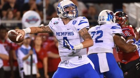 Bengals: Riley Ferguson, QB, Memphis