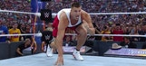 Watch: Rob Gronkowski hops in the ring at Wrestlemania for the battle royal