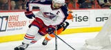 Flyers double up reeling Blue Jackets 4-2